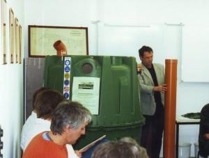 Vortragsveranstaltung zum Einbau von Abwassersammelbehälter 2007