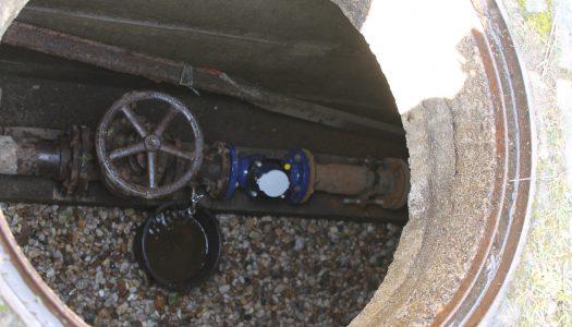 Wiederinbetriebnahme der Wasseranlage
