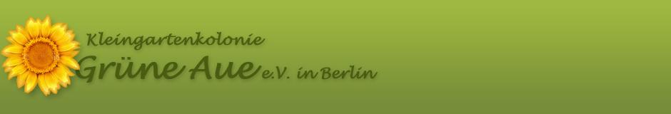 Kleingartenkolonie Grüne Aue e.V.