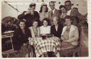 Sommerfest 1947-1