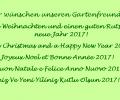 Grußworte des Vorstands zum Jahreswechsel