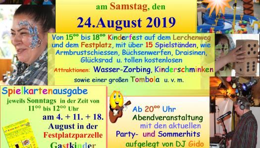 Kinder- und Sommerfest
