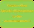 """Vereinsaktivitäten während der """"Corona-Pandemie"""""""